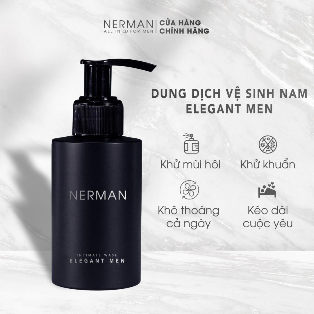 Dung dịch vệ sinh nam Elagent Men